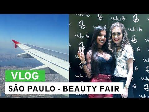 VLOG: Viagem para São Paulo, Beauty Fair 2017