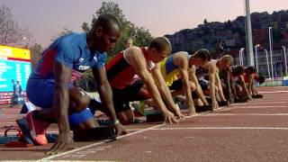 24 07 2017 ATHLETICS 100m Semi Final Women Men HIGHLIGHTS 1
