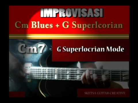 C Minor Blues & G superlocrian demo