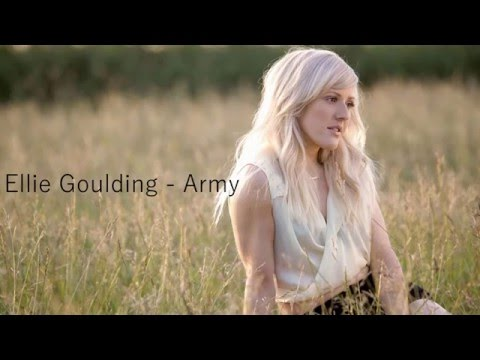 Ellie Goulding - Standing with an army (Lyrics)