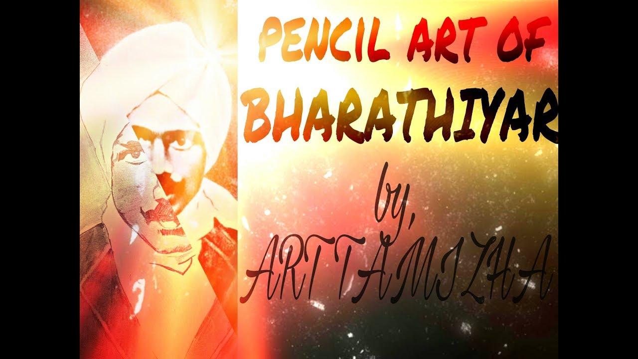 Drawing of bharathiyar