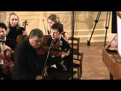 A. Vivaldi - Concerto a-moll for violin, strings and cembalo