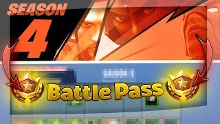 All INFOS about Season 4 BATTLE PASS, NEW SKINS and more! 🔥| Fortnite Battle Royale