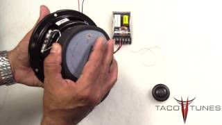 Toyota Tacoma 2016 + How to install component speakers tweeters in the front doors dash board
