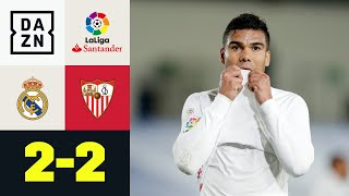 Il Real pareggia, l'Atletico ringrazia: Real Madrid-Siviglia 2-2 | LaLiga | DAZN Highlights