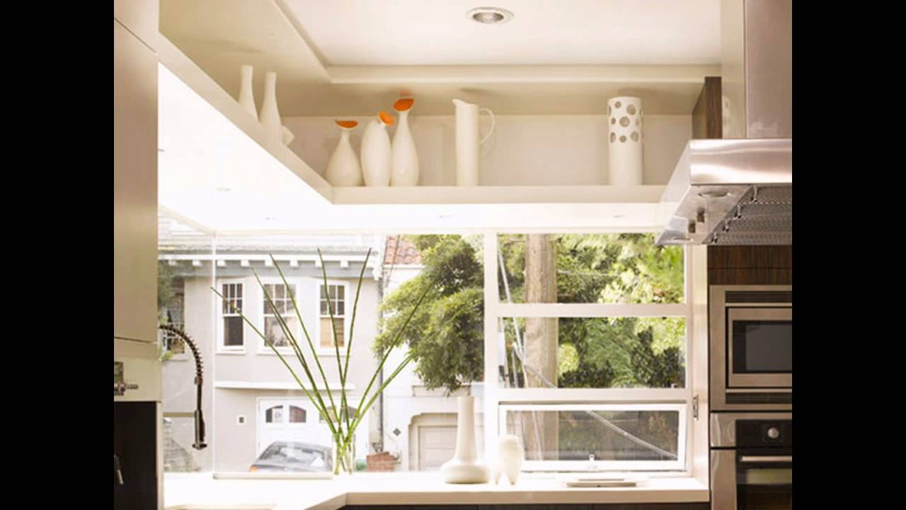 Best Decorating above kitchen cabinets - YouTube