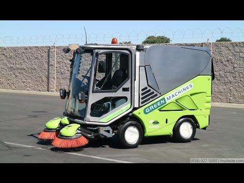 2008 Green Machine 636 Hi-Speed Vacuum Sweeper