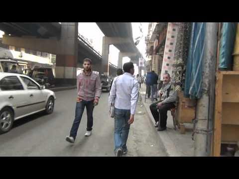 Walking in Cairo