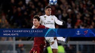 UEFA Champions League | Roma vs Real Madrid | Highlights