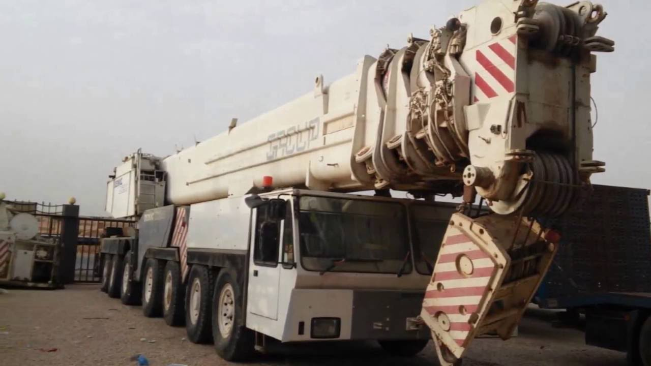 For Sale 400 Ton Demag AC 1200 in India