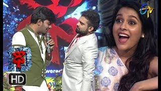 Sudheer | Varshni | Funny Joke | Dhee 10 | 4th April 201 | ETV Telugu