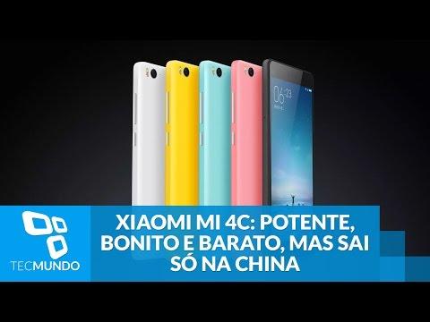 Xiaomi Mi 4c: smartphone é potente, bonito e barato, mas sai só na China