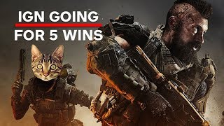 Call of Duty Black Ops 4: Blackout! Going For 5 Duo Wins Livestream - IGN Plays Live thumbnail
