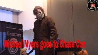 Michael Myers goes to Chase Con (Saratoga 2016)