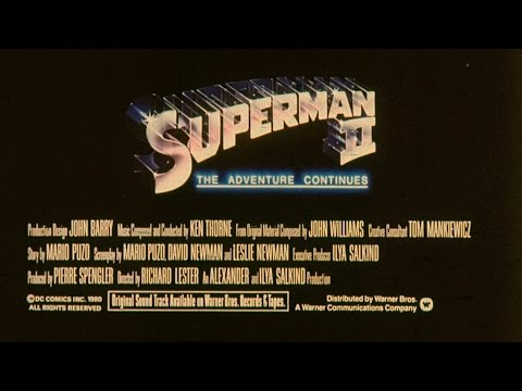 Trailer: Superman II 1980 35mm Theatrical Trailer