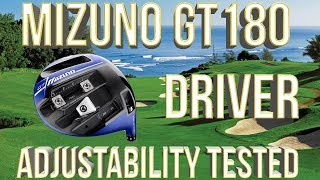 Mizuno GT180 Driver: The MOST Adjustable Driver in Golf Tested