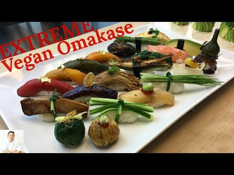 EXTREME Vegan Omakase | How To Make Sushi Series