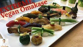 EXTREME Vegan Omakase | How To Make Sushi Series