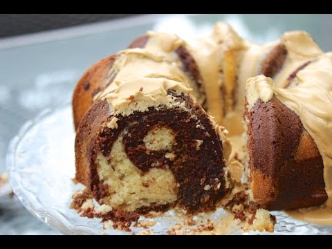 HOW TO MAKE A MOCHA COFFEE CAKE a.k.a. Coffee, Chocolate and Vanilla Marble Cake