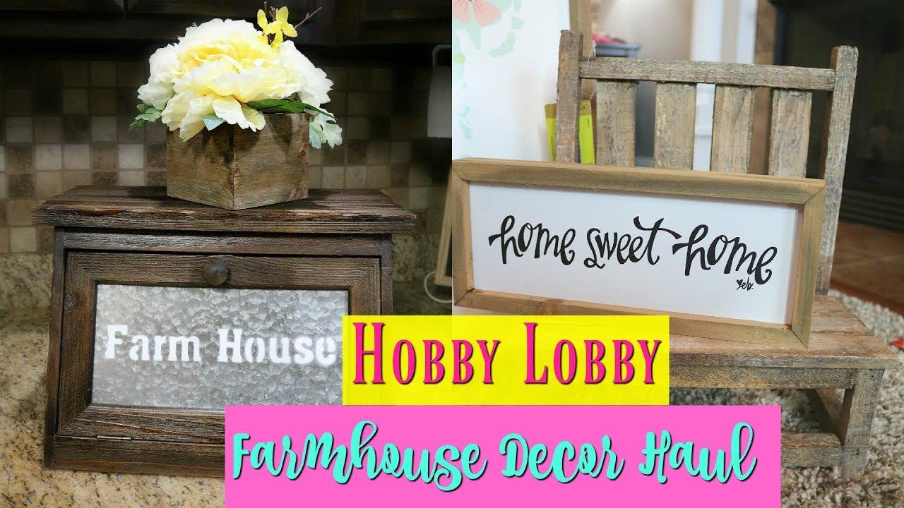 Hobby Lobby Home Decor Sale