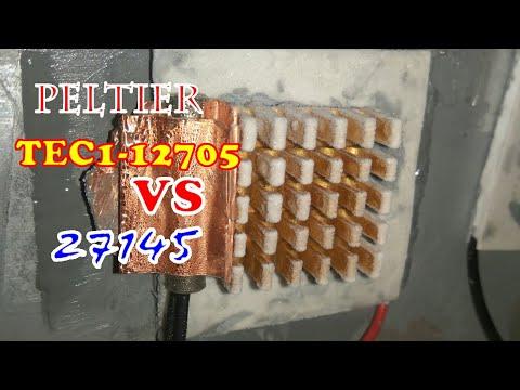 Penasaran Performa Peltier / Pendingin TEC1- 12705 Dan 27145