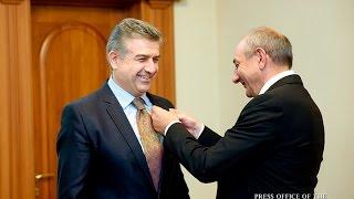 Կարեն Կարապետյանը պարգևատրվել է «Մեսրոպ Մաշտոց» շքանշանով