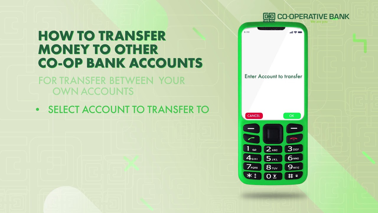 How to Transfer Money to other Co-opBank Accounts with MCo-opCash #WeAreYou