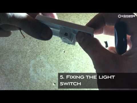 Geo Solar Lighting Kit Installation