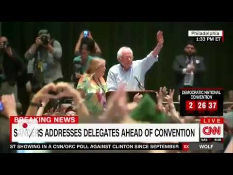 Jane Sanders Caught on Hot Mic Talking to Bernie
