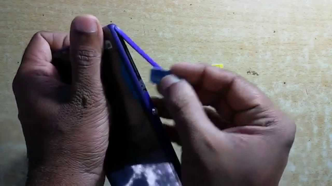 Sony Xperia M2 How To Insert Micro Sim Card Dual Sim Sony