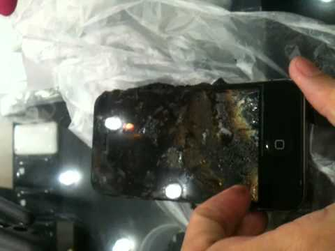iphone explodes while charging iphone explosion when charging 15257