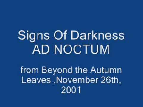signs of darkness ad noctum studio