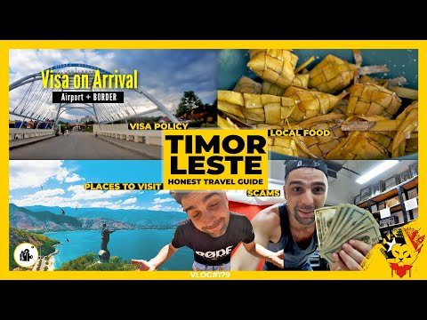 TIMOR LESTE Honest Travel Guide & Experiences | Travel in Different Dimension