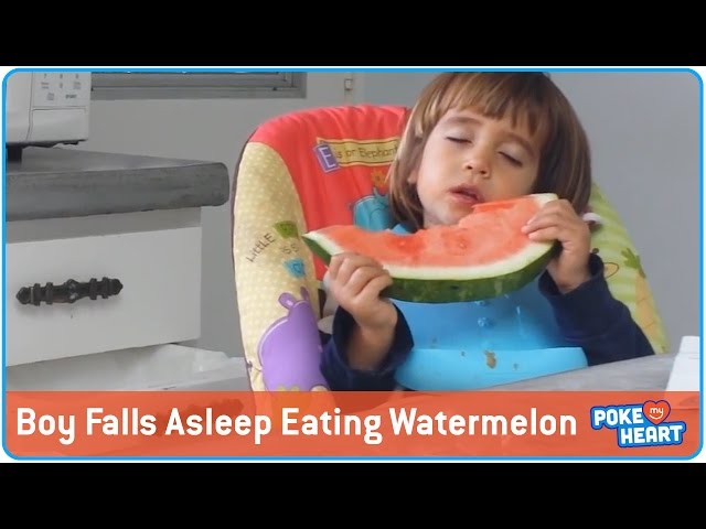 Sleepy Watermelon Boy