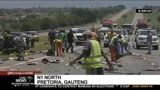 Police investigating Pretoria crash