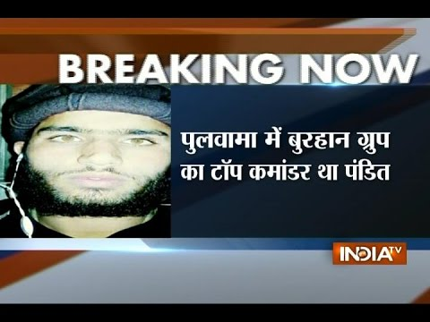 Top Commander of Burhan Group Surrenders Before Indian Army in Jammu and Kashmir