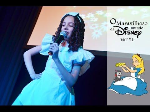 Alice No Pais Das Maravilhas No Meu Mundo Disney Letras Com