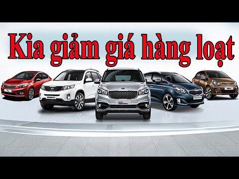Kia giảm giá hàng loạt mẫu ô tô không ngờ