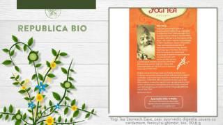 Yogi Tea Stomach Ease Ceai Ayurvedic Digestie Usoara Cu Cardamom Fenicul Si Ghimbir Bio
