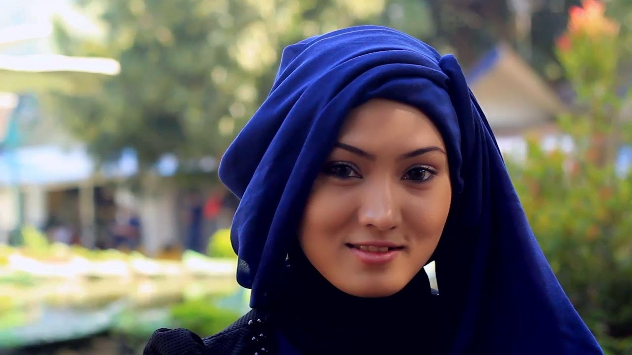 Hijab Tutorial Square Scarf For Party YouTube