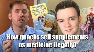 Baixar How Quacks Sell Supplements as Medicine (Without Breaking the Law)