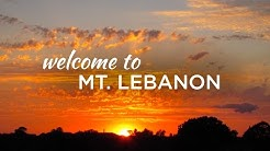 Mt. Lebanon, A Community with Character…