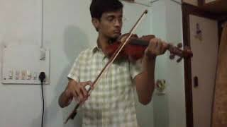 Tum hi ho (Aashiqui 2) by Mayank Ladha (Violin Instrumental)