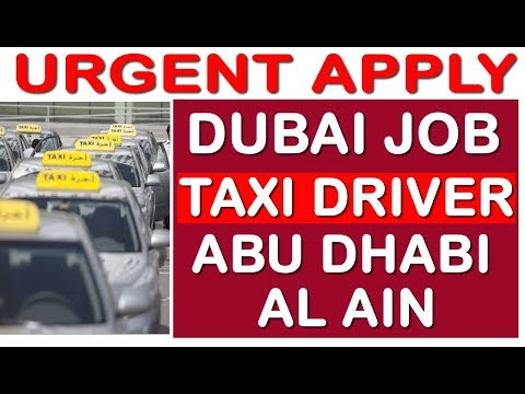 Urgent Apply - TAXI DRIVER JOB IN ABU DHABI & AL AIN | TECH GURU DUBAI | HINDI URDU | DUBAI JOB