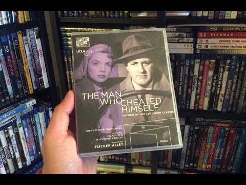 The Man Who Cheated Himself BLU RAY REVIEW + Unboxing