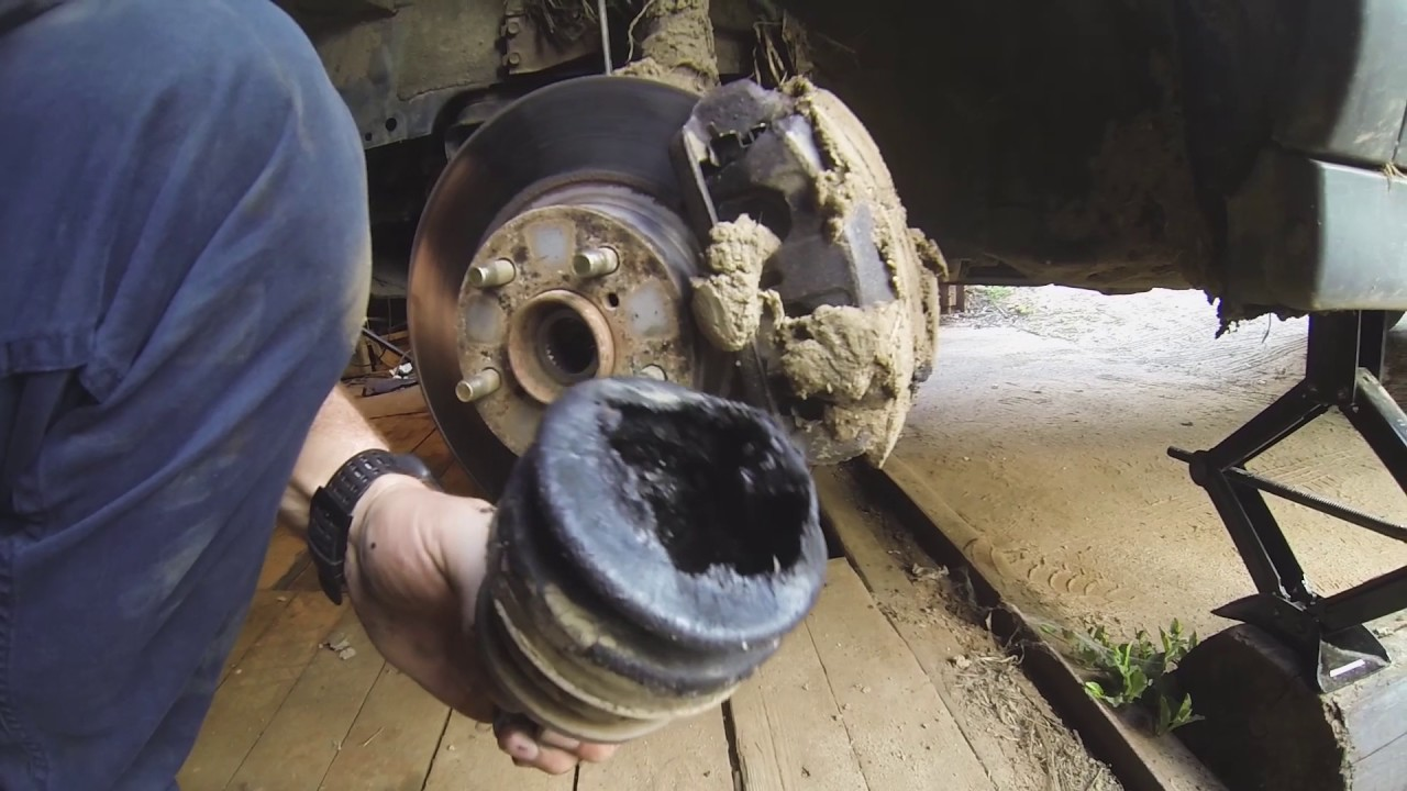 How to replace Subaru Forester CV Joint