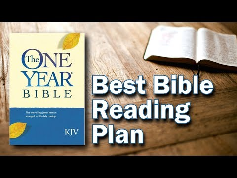 Best Bible Reading Plan - 1 Year Bible Reading Plan - #OneYearBible