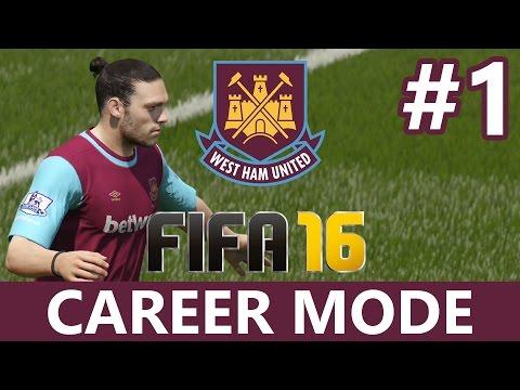 Fifa 16 Career Mode Part 1 - PRE-SEASON & TRANSFERS