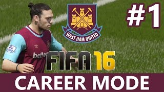 Fifa 16 Career Mode Part 1 - PRE-SEASON & TRANSFERS