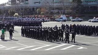 埼玉県警察 年頭視閲式 分列行進 2019
